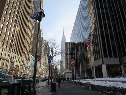 ニューヨーク散策開始