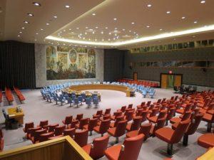 国連本部で有名な場所