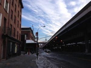 ニューヨークブルックリン橋みっけ