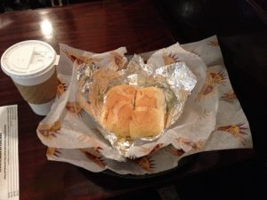 ニューヨーク早朝で食べた朝食