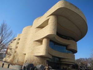 アメリカンインディアン博物館外観