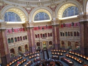 議会図書館の有名な場所