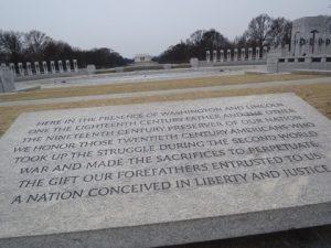 ワシントンDC石碑