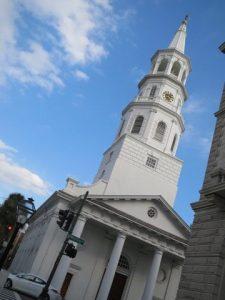 チャールストンの白い教会