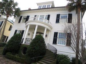 チャールストンの豪邸