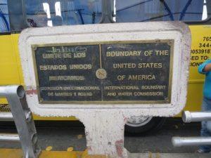 アメリカとメキシコの国境